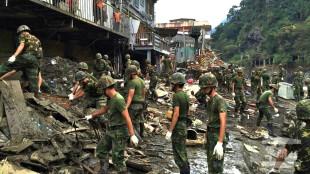 Tajfun Dujuan dotarł do Chin. Wcześniej siał zniszczenie na Tajwanie
