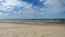 Sobota to dzień na spacery po plaży