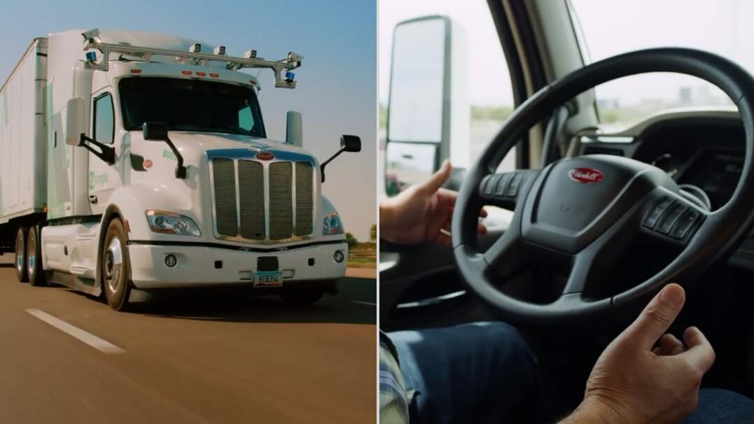 Autonomiczna ciężarówka. Ma dziewięć kamer i dwa czujniki