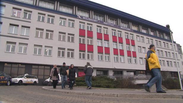 Szpital przy ul. Szaserów archiwum TVN24
