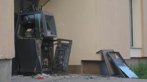 Złodzieje wysadzili bankomat na Gocławiu
