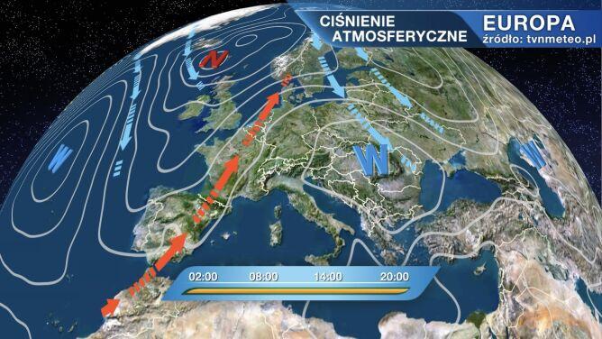 Wyż Valentin wpłynie na pogodę w Polsce