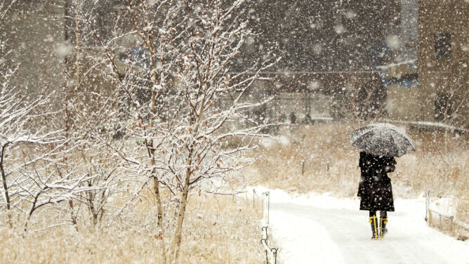 Prognoza pogody na dziś: <br />środa z deszczem i śniegiem