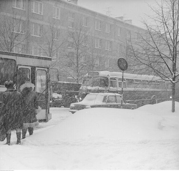 Zima Stulecia na Wierzbnie w Warszawie (NAC)