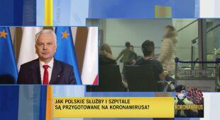 """2. """"Nie wykluczamy, że przypadek koronawirusa w Polsce się pojawi"""""""